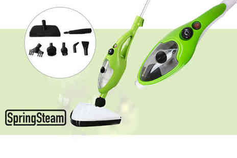 Home Empire - 10 in 1 steam mop - Save 70%