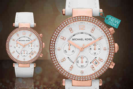 Gray Kingdom - Michael Kors MK2281 ladies Parker watch - Save 66%