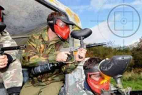 Battlefield Paintball - Paintballing For One With 100 Paintballs Each - Save 85%