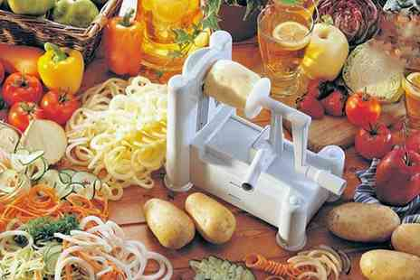 Groupon Goods Global GmbH - One or Two Apollo Three Blade Vegetable Spiralizers - Save 60%
