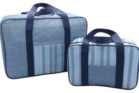 Groupon Goods Global GmbH - One or Two Two-Piece Cooler Bag Sets - Save 60%