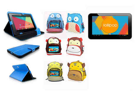 We Heart Electronics - Childrens 7 inch tablet bundle, with a limited number available - Save 0%