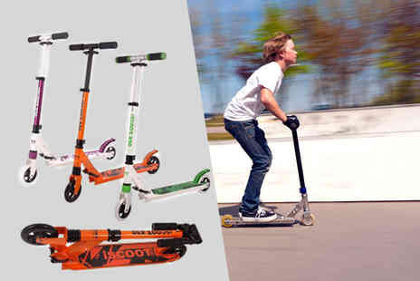 ViVo Technologies - iScoot Pro stunt scooter in a choice of three different colour combinations - Save 76%
