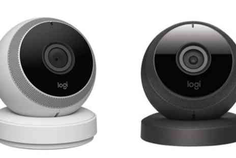 Groupon Goods Global GmbH - Logitech Circle HD Wireless Home Wi-Fi Security Camera with Two Way Talk With Free Delivery - Save 0%