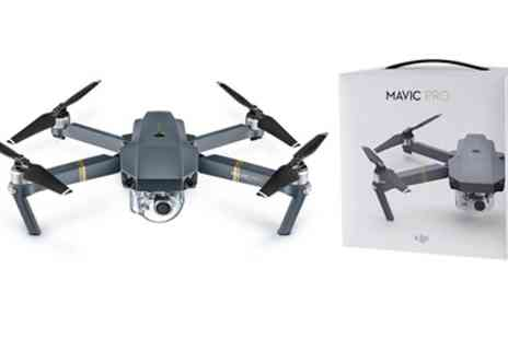 Groupon Goods Global GmbH - DJI Mavic Pro Drone with 4K Camera With Free Delivery - Save 0%
