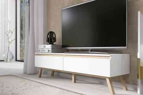 Groupon Goods Global GmbH - Selsey Bergen TV Cabinet With Free Delivery - Save 53%
