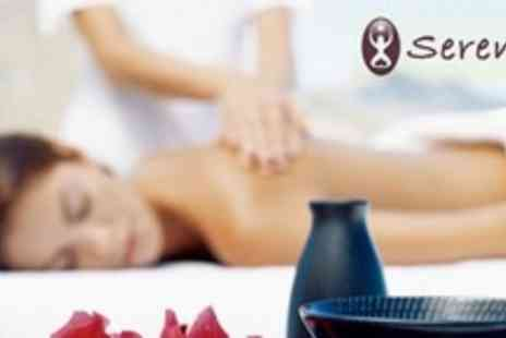 Serenity Spa - Pamper Day with Massage, Sauna and Foot Spa With Bucks Fizz For One - Save 61%