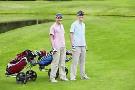 Malkins Bank Golf Club - 18 Holes of Golf with Meal and Drink for Up to Four with Optional Buggy Hire - Save 57%