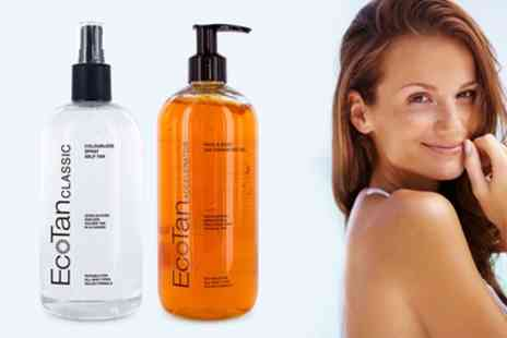 Groupon Goods Global GmbH - EcoTan Tanning Products - Save 70%