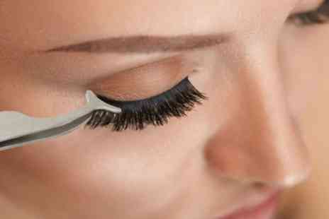 Groupon Goods Global GmbH - False Eyelashes Extension Applicator Remover Clip Tweezers One, Two or Four Pairs - Save 40%