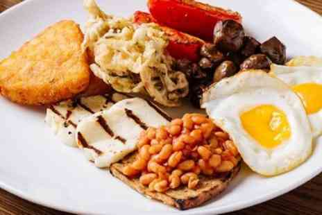 Hawkers Bar and Brasserie - Brunch with Glass or Free Flowing Prosecco for One, Two or Four - Save 49%