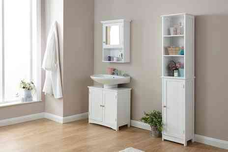 Groupon Goods Global GmbH - New England Style Bathroom Furniture - Save 60%