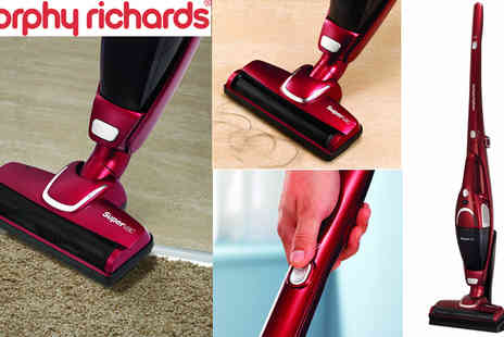 Giddy Aunt - Morphy Richards 732005 2 in 1 Supervac Cordless Vacuum Cleaner - Save 50%