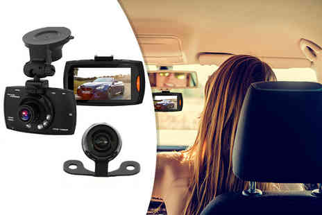 Nex Buy - HD front and rear dashcam or dashcam with 16GB memory - Save 68%