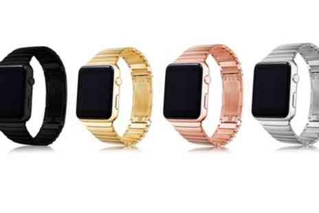 Groupon Goods Global GmbH - Link Bracelet for Apple Watch - Save 50%