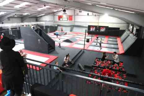 Airborne Trampoline Park - One Hour Trampoline Park Access for One, Two or Four - Save 25%