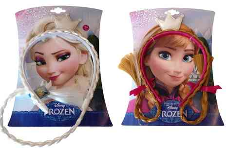 Groupon Goods Global GmbH - Two Girls Frozen Themed Novelty Dress Up Headbands - Save 0%
