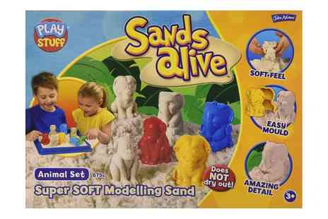 Groupon Goods Global GmbH - John Adams Sands Alive Animal Set - Save 20%
