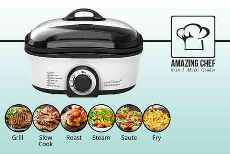 Advanced Global Productions - Daniel James Housewares 8 in 1 multicooker - Save 63%