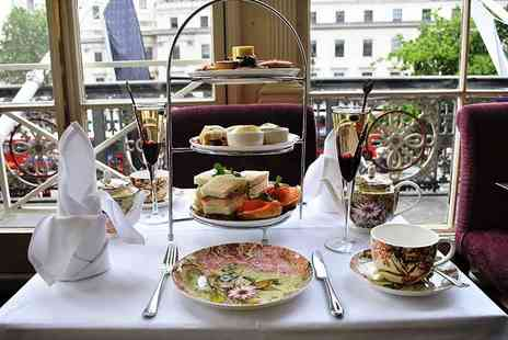 Amba Hotel Charing Cross - Royal afternoon tea with a glass of bubbly each for two - Save 56%