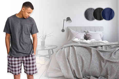 Nothing New 2 Wear - Mens t shirt and short sleep set - Save 64%
