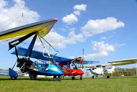 Buyagift - 60 minute microlight flight experience - Save 0%