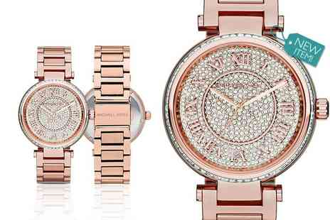 Class Watches - Ladies Michael Kors MK5868 rose tone Skylar watch - Save 59%