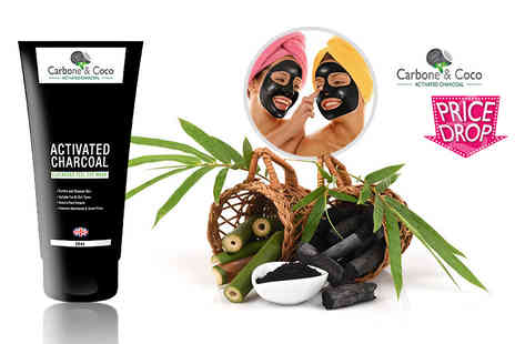 Carbone & Coco - Carbone & Coco activated charcoal blackhead peel off face mask - Save 89%