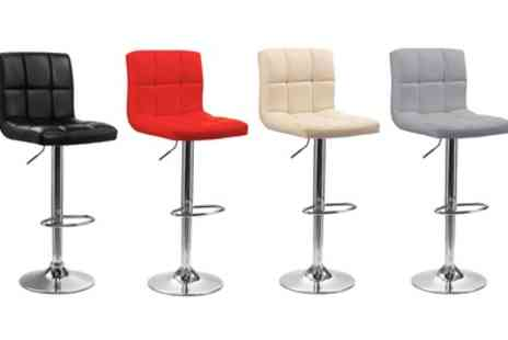 Groupon Goods Global GmbH - Two, Four or Six Cube Bar Stools With Free Delivery - Save 75%
