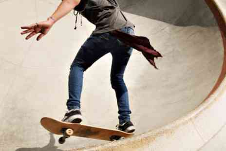 The Base Skatepark - One or Two Sessions or All Day Access to Skatepark - Save 38%