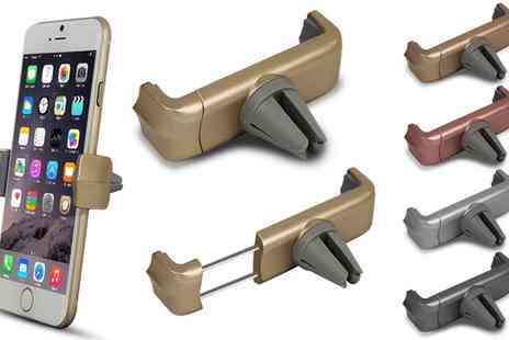 Groupon Goods Global GmbH - Car Vent Smartphone Holder - Save 75%
