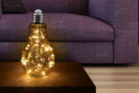 Groupon Goods Global GmbH - Up to Four 20 Led Glass Bulb Lights - Save 61%
