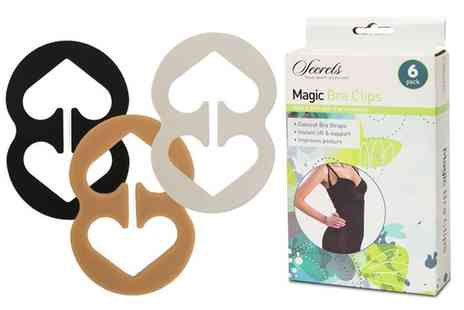 Groupon Goods Global GmbH - Six Magic Bra Clips - Save 0%