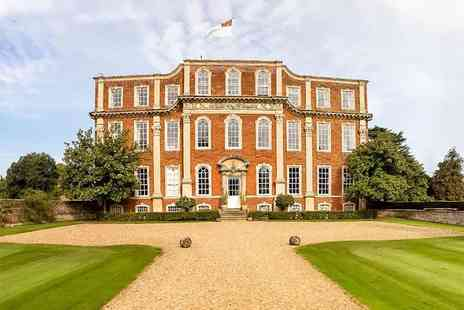 Chicheley Hall - Overnight 4 Star break for two including a three course dinner, breakfast and afternoon tea - Save 41%