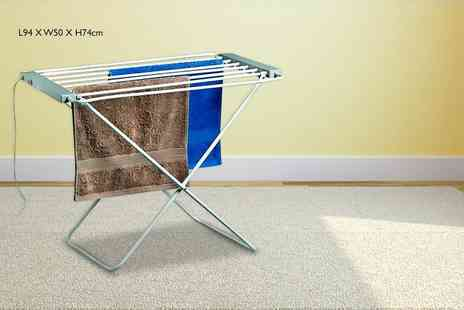 direct2publik - Heated clothes airer - Save 78%