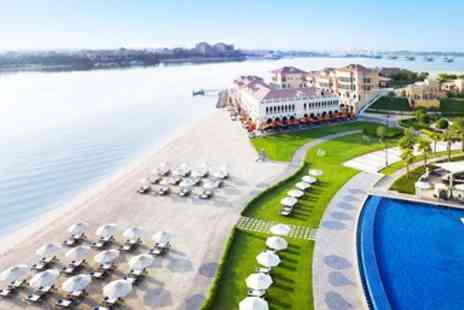 Away Holidays - Ritz Carlton Abu Dhabi Escape with Flights & Meals - Save 0%