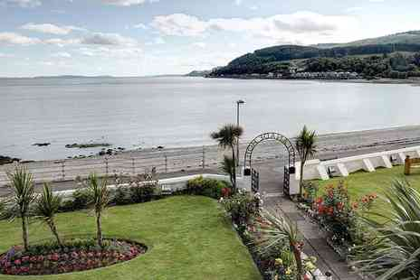 SGE Hotels - One, two or three night Dunoon break for two with breakfast and late check out, with three course dinner - Save 49%