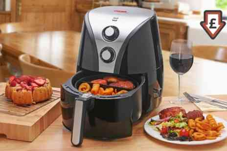 Groupon Goods Global GmbH - Cooks Professional Air Fryer With Free Delivery - Save 61%