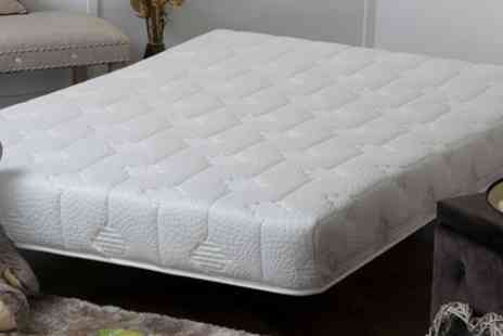 Groupon Goods Global GmbH - Quilted Memory Foam Mattress in Choice of Size With Free Delivery - Save 88%
