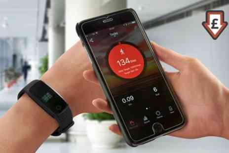 Groupon Goods Global GmbH - BodyFit Bluetooth Fitness Watch - Save 60%
