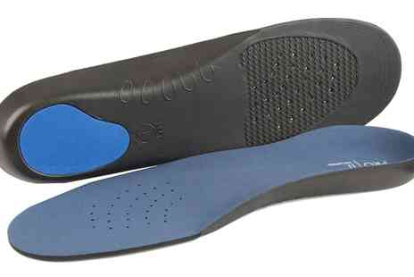Groupon Goods Global GmbH - One or Two Pairs of Comfort Orthotic Insoles - Save 76%