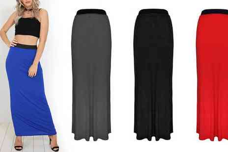 Groupon Goods Global GmbH - Be Jealous Maxi Skirt Available up to Size 22 - Save 0%