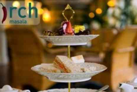 Mirch Masala - Afternoon Tea With a Twist For Four - Save 65%