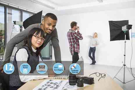 e courses4you - Online digital SLR photography course or online photography business course bundle - Save 84%
