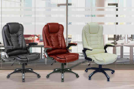 Bright Associate Doctor - Reclining swivel office chair choose from four colours - Save 58%