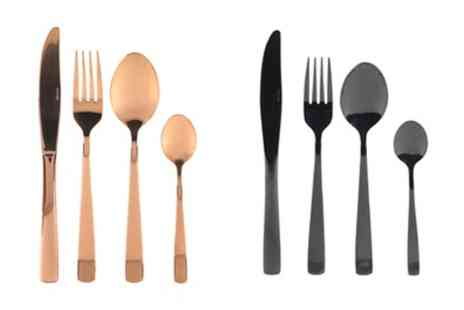 Groupon Goods Global GmbH - Salter Regal Styled 16 Piece Cutlery Set - Save 58%