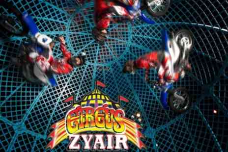 Circus Zyair - Two or four side view tickets to Circus Zyair with popcorn on 22 to 27 August - Save 45%