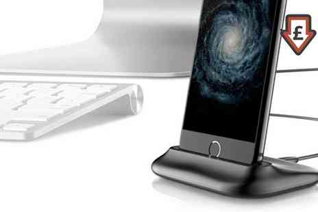 Groupon Goods Global GmbH - Apachie Aluminium iPhone Dock in Choice of Colour - Save 60%