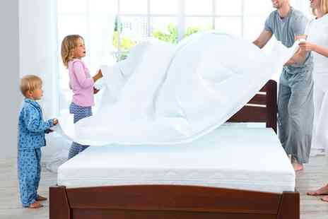 Groupon Goods Global GmbH - Four Way Protection Mattress Protector in Choice of Size - Save 50%