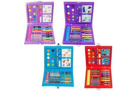 Groupon Goods Global GmbH - Sambro Licensed Character 52 Piece Art Case - Save 0%